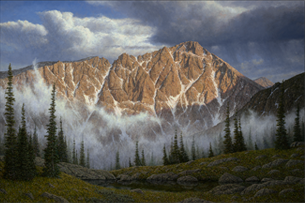 The Paintings and Prints Gallery contains fine art prints and original paintings of mountain scenes, including many in Rocky Mountain National Park